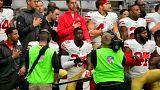 NFL: folytatódó tiltakozás