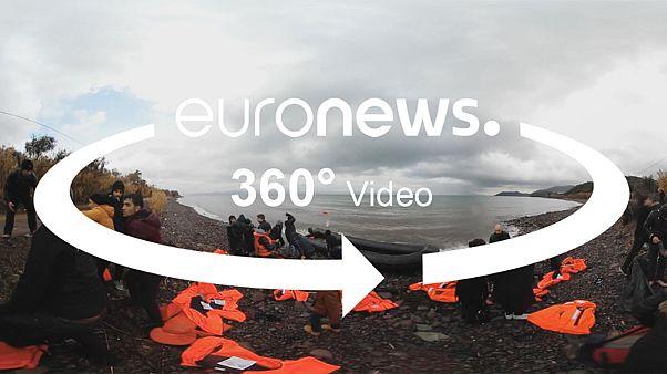 Η ιστορία του Σάμι σε 360°: Η οδύσσεια ενός μετανάστη από την Τουρκία στην Ελλάδα