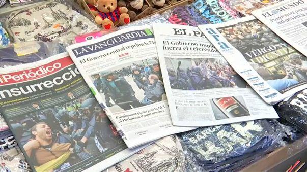 El Gobierno catalán presenta un nuevo balance de heridos