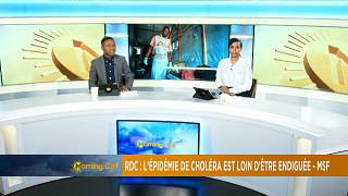La RDC à nouveau confrontée à une épidémie de choléra [The Morning Call]