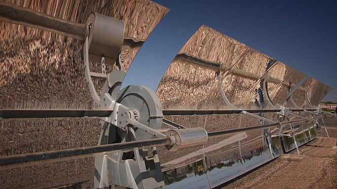 محطة توليد الطاقة الشمسية في المغرب