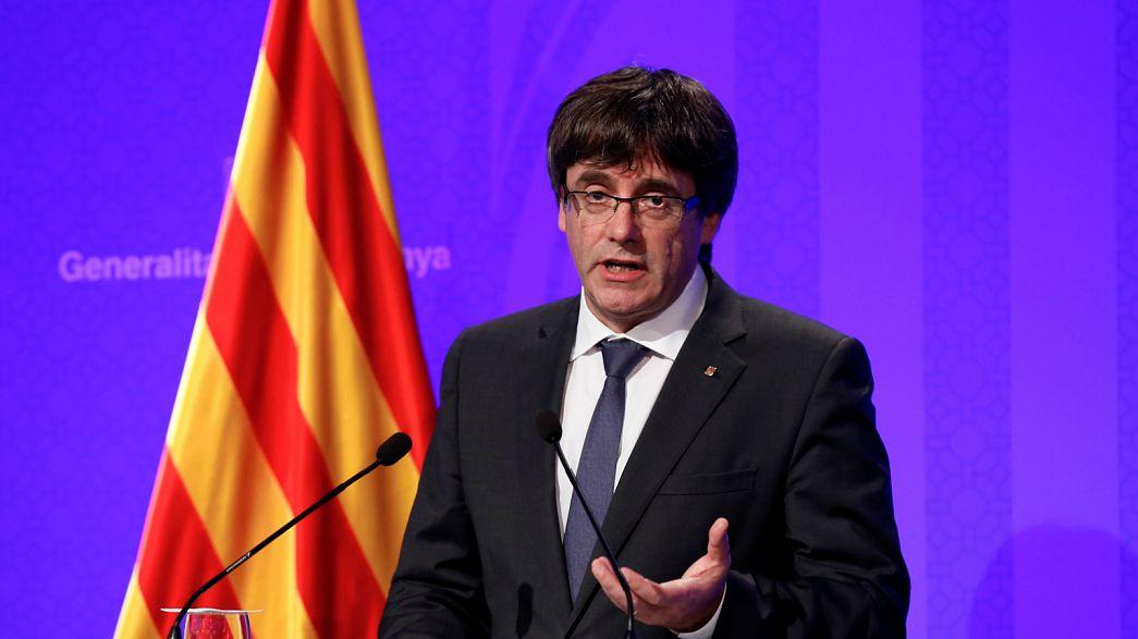 Katalan yönetimi: İspanyol polisi Katalonya'yı terk etsin