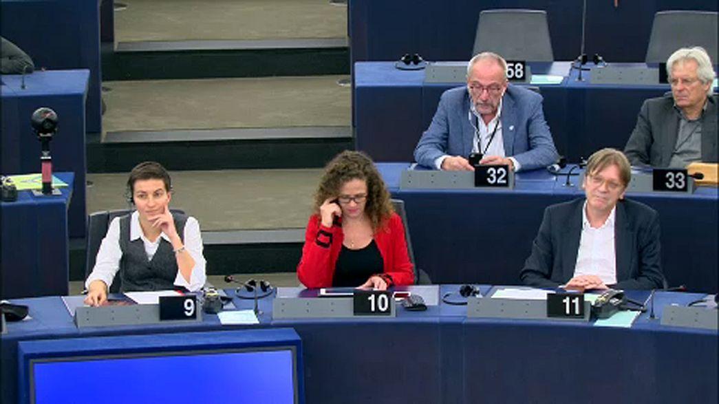 Gli eurodeputati chiedono un dibattito sulla situazione in Catalogna