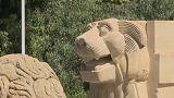 El León de Palmira renace de entre las ruinas