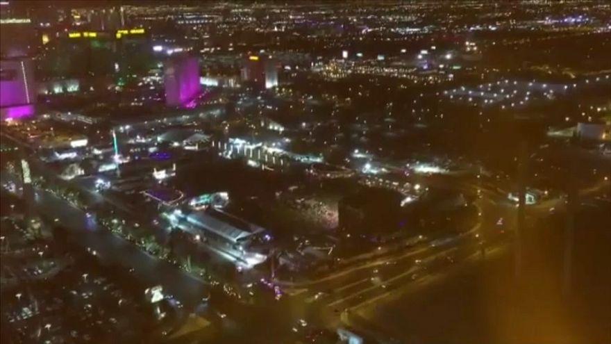 Las Vegas saldırısının amatör görüntüleri yayımlandı