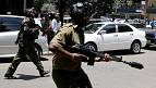 Kenyan police use tear gas to disperse opposition supporters in Nairobi [no comment]