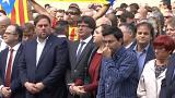 Catalan leaders denounce referendum violence