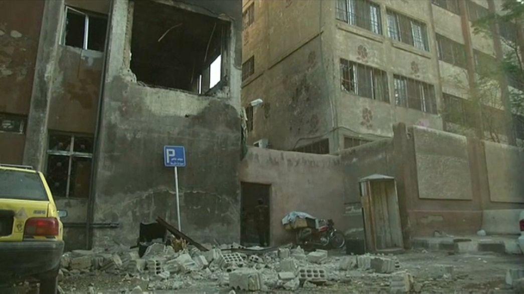 Attentat contre un commissariat à Damas