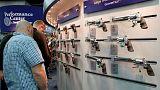 Újból napirenden a fegyvertartás szabályozása