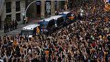Crónica de la multitudinaria huelga general en Cataluña