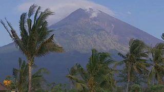 Бали в ожидании извержения вулкана