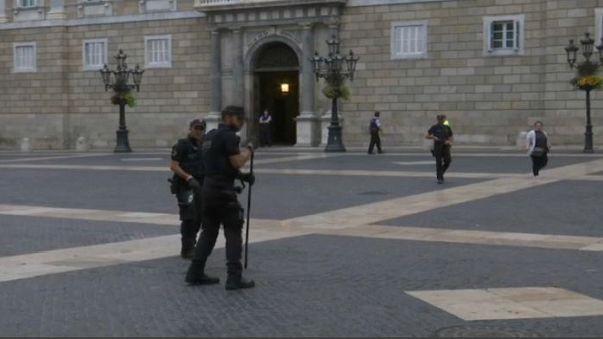Barcellona al risveglio, in attesa della protesta