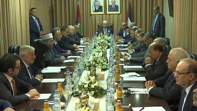 Filistin hükümeti Gazze'deki ilk toplantısını gerçekleştirdi