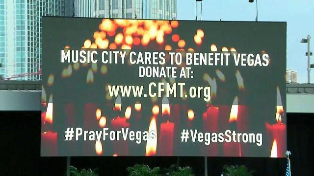 El country se cubre de luto por Las Vegas