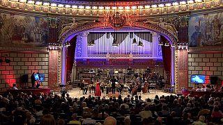 ستارگان جهانی در جشنواره موسیقی کلاسیک جورج انسکو در بخارست