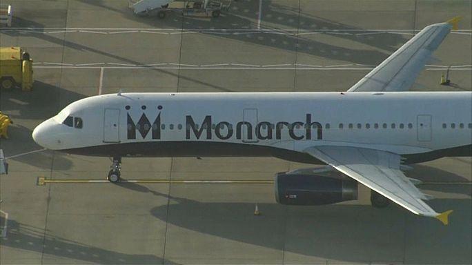Königlich in die Pleite: 110.000 Monarch-Passagiere gestrandet