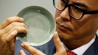 فروش ۳۷ میلیون دلاری یک کاسه چینی در حراج رکورد شکست