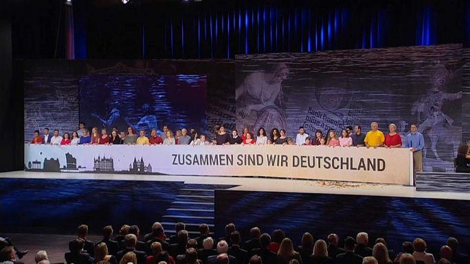 Az újraegyesítés évfordulóját ünnepelték Németországban