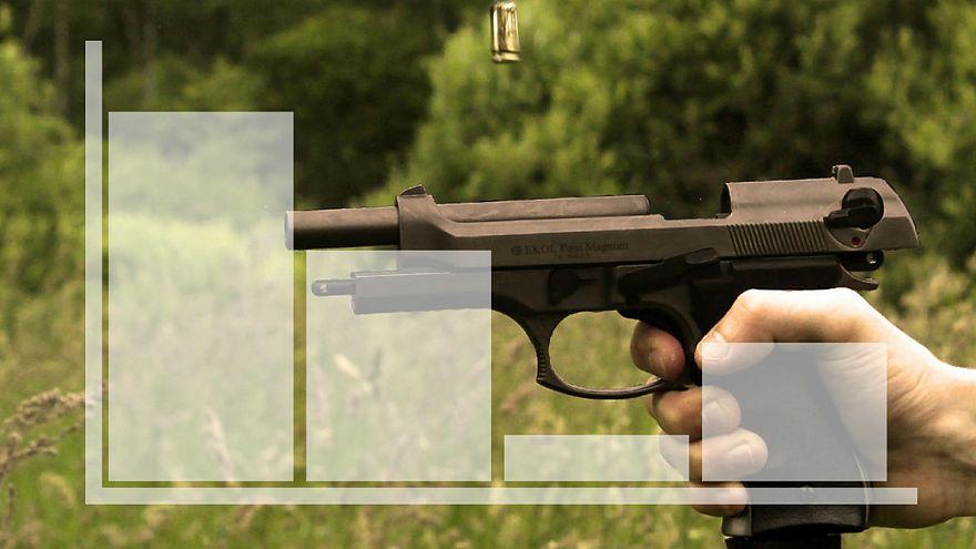 Schreckliche Statistik der von Waffen besessenen USA: 521 Schießereien an 477 Tagen