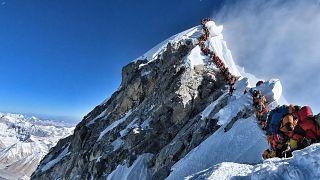 Image: NEPAL-MOUNTAINEERING-EVEREST