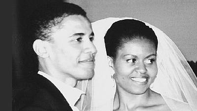 Michelle Obama celebrates 'extraordinary' Barack on 25th wedding anniversary