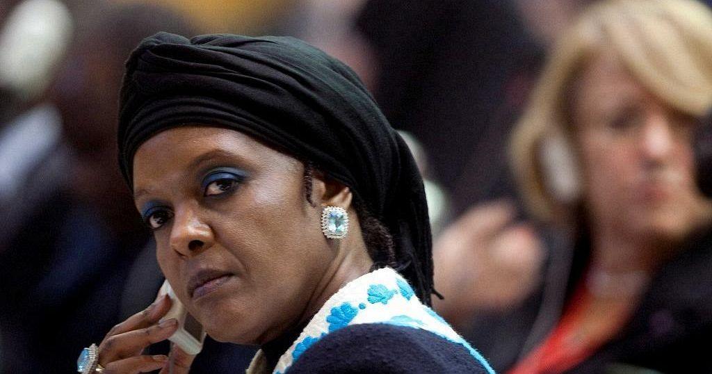 74f89950750 Zimbabwe journalist charged over Grace Mugabe underwear donation story