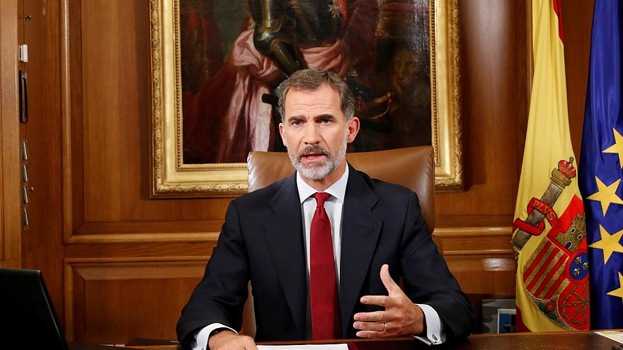 Spain's King Felipe accuses catalan separatists of ''unacceptable disloyalty""