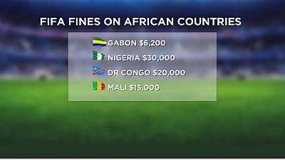 Des sélections africaines sanctionnées par la FIFA