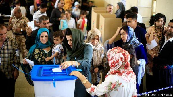 کردستان عراق انتخابات ریاستی و پارلمانی برگزار می کند