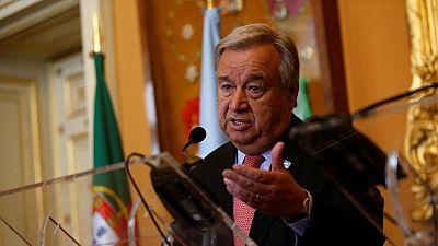 U.N. chief backs Biya's dialogue calls in Cameroon's Anglophone crisis