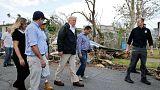 """Trump en Puerto Rico: """"Esto no es el Katrina"""""""