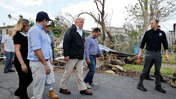 Donald Trump minimise Maria par rapport à Katrina