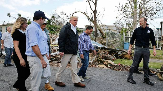 Трамп в Пуэрто-Рико