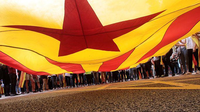 Imagini pentru cataluña huelga general
