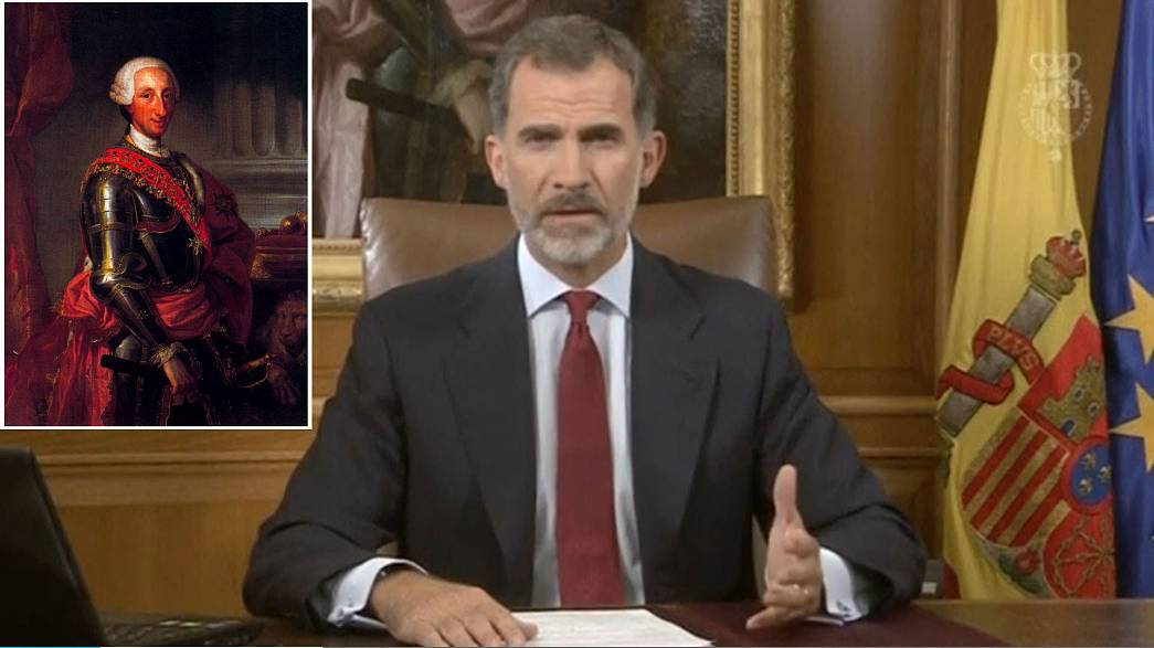 The hidden messages in Spanish king's Catalan speech
