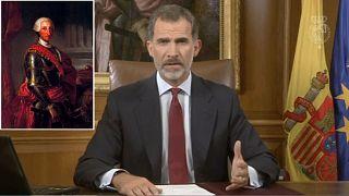 Rejtett üzenet a spanyol király beszédében?