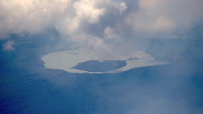 Erupção vulcânica iminente obriga a evacuação