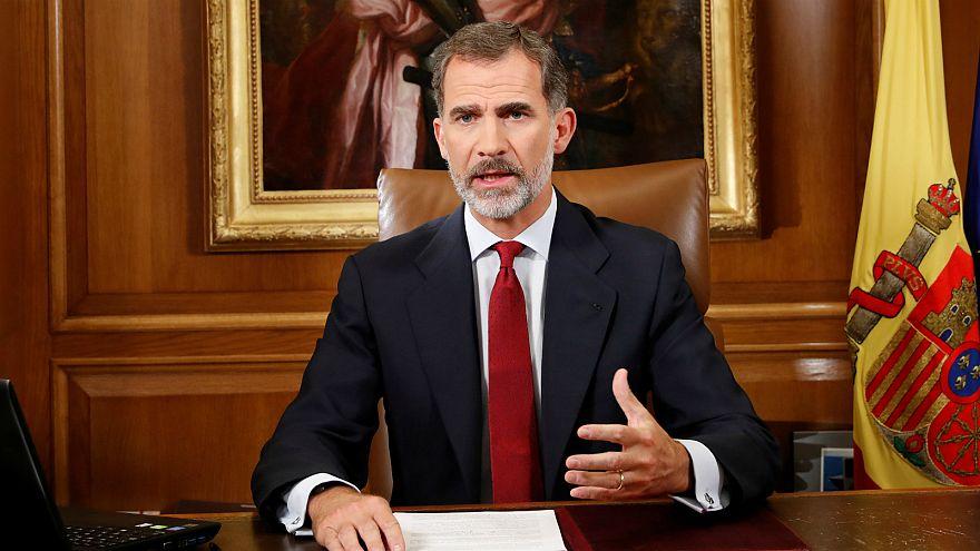 Discurso completo del rey Felipe VI sobre el desafío independentista en Cataluña