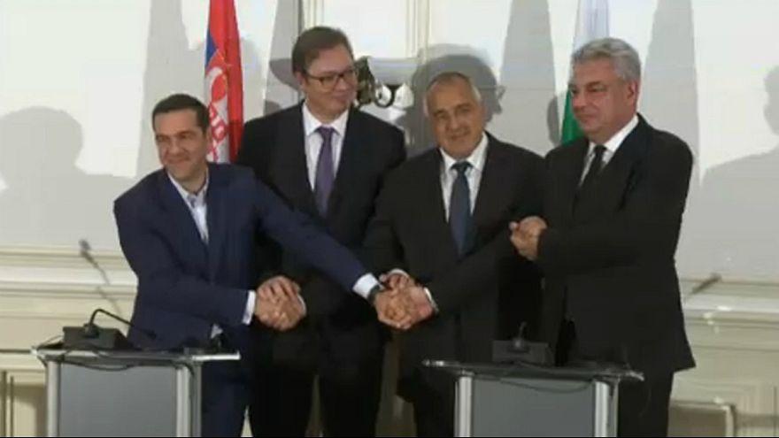 Bulgaristan'da dörtlü Balkan Zirvesi