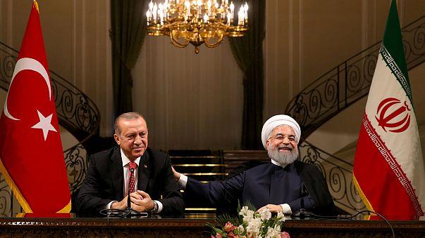 إتفاق تركي إيراني على وقف مساعي الاكراد للانفصال