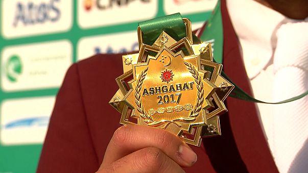 Finalizan los quintos Juegos Asiáticos de Interior y Artes Marciales de Asjabad