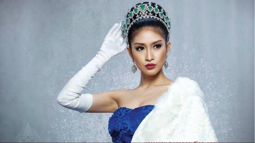 مقطع فيديو يتسبب في تجريد ملكة جمال ميانمار من لقبها