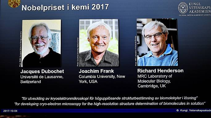 British scientist Richard Henderson among trio awarded 2017 Nobel chemistry prize