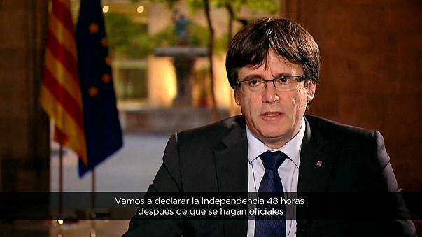 Puigdemont: cada error del Gobierno nos da más fuerza