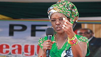'Stop harassing journo over Zimbabwe first lady underwear donation story': rights body