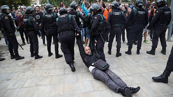Еврокомиссия допускает применение силы в Каталонии
