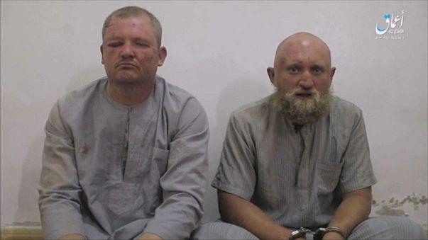 Россияне в плену ИГИЛ
