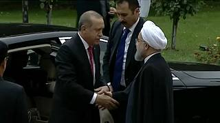 Erdogan-Rohani találkozó