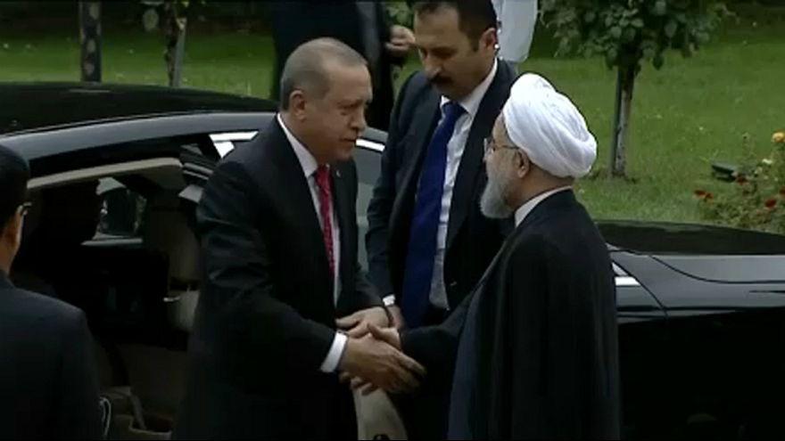 """Teheran, Erdogan: """"Contromisure maggiori nei confronti di Erbil"""""""