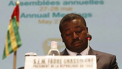 Togo anti-Gnassingbe protest holds amid U.S. security alert